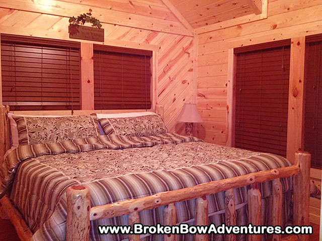 Broken Bow - Beavers Bend,OK Luxury log Cabin - Hilltop Aqua Vista ...
